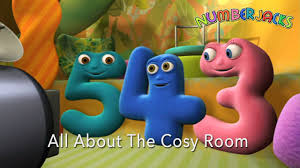 numberjacks all about the cosy room youtube