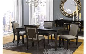 oasis mirrored dining table for rent brook furniture rental