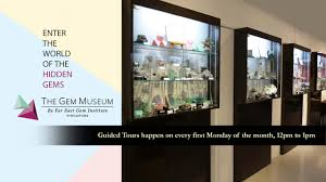 guided tours of singapore gem guided tour the gem museum singapore 23 may 2017