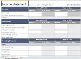 100 simple income statement excel simple income statement