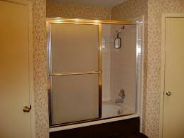 patterned glass shower doors bathroom divine shower tub combo decorations ideas kropyok home