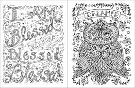 amazon com posh coloring book inspirational quotes for fun