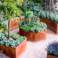 backyard vegetable garden design vegetables herbs ideas wooden