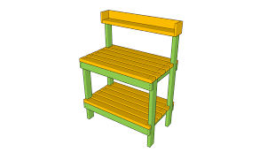 Free Simple Storage Bench Plans by Free Potting Bench Plans Free Garden Plans How To Build Garden