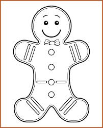 gingerbread man template sop example