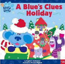 blue u0027s clues holiday blue u0027s clues 8x8 paperback angela