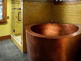 diamond bathtub copper circular japanese soaking bath by diamond spas
