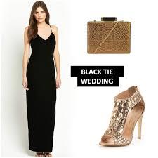 black tie wedding the dress code explained littlewoods ireland blog