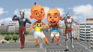 waptrick film kartun anak upin ipin super animasi transform into ultraman zero and ultraman