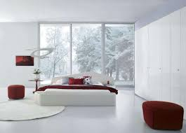 Red And White Modern Bedroom Image Of Awesome White Bedroom Furniture Best Modern White