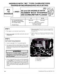 1987 20 hp mercury timing adjustment page 1 iboats boating