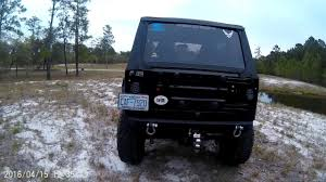jeep jeepster lifted rough country 6in x series lift jeep tj youtube