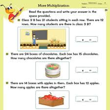 worksheets for class 3 mathematics english and environmental