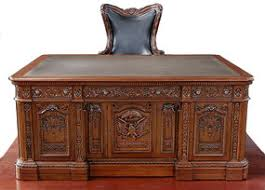 Resolute Desk 7ft Wide Mahogany Leather Top Presidential Oval Office Resolute Desk