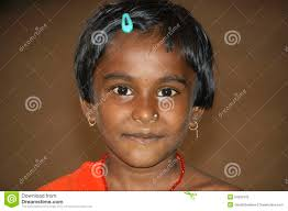 black girl earrings portrait of indian girl bijapur india editorial photography