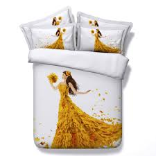 Gold Quilted Bedspread Online Get Cheap Gold Comforter Set Aliexpress Com Alibaba Group