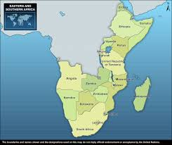 Map Of Southern Africa by Unicef Humanitarian Action For Children 2011 Eastern And
