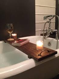 bronze bathtub caddy bath tub tray winsome rustic bathtub caddy poplar wood with handles