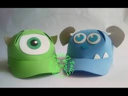 como hacer gorras de fomix del cars gorras en foami youtube