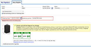 united baggage how often does united change their baggage policy running with
