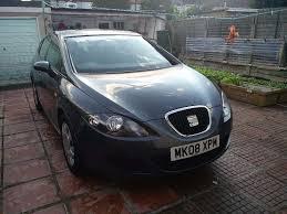 seat leon 2008 grey reference 1595cc 1 6 manual petrol 5 door open