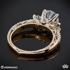 40000 engagement ring verragio beaded shared prong 3 engagement ring 2005