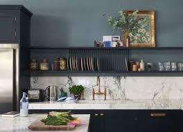 painting my kitchen cabinets blue the best kitchen paint colors from classic to contemporary