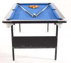 fold away end table foldaway pool table liberty games