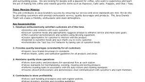 standard resume exles barista description resume 3 impressive barista resume