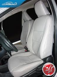 seat covers for cadillac srx coverking premium genuine leather custom slip on seat covers for