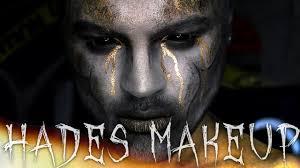 gold halloween makeup hades halloween makeup tutorial sonjdra deluxe jordan hanz