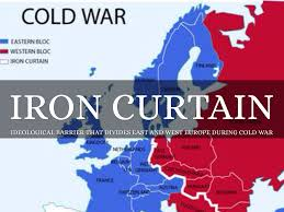 Cold War Map Of Europe by Cold War By Josselin Leyva