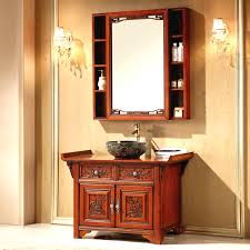 bathroom reclaimed wood bathroom vanity mirror cabinets with