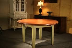 Round Farmhouse Tables - Large round kitchen tables