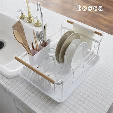Beaup Rakuten Global Market Dish Drainer Basket Tosca Dish - Kitchen sink plate drainer