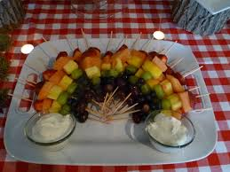 how to make a fruit basket photo baby shower fruit baskets winnie image