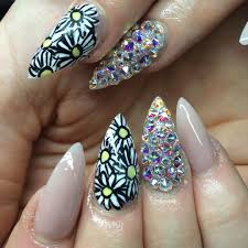 30 colourful acrylic nail art designs ideas design trends