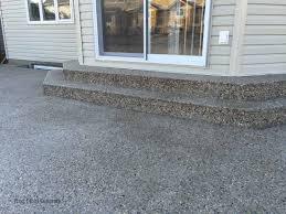 Cement Patio Cost Per Square Foot by Edmonton Concrete Patio U2013 Next Level Concrete Ltd