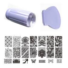 online buy wholesale transparent stamp nail from china transparent