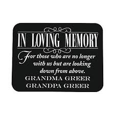 wedding memorial sign personalized reserve seating memorial wedding sign
