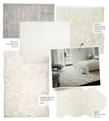 Faux Fur Area Rugs by Large Fluffy Rugs