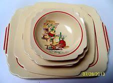 homer laughlin vintage lot of 9 pcs vintage homer laughlin mexicana kitchen kraft bowl