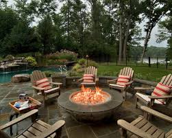 round propane fire pit table round fire pit table and chairs boundless table ideas
