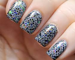 copycat claws picture polish festival with edm stamping