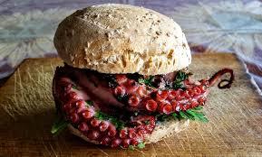 poulpe cuisine poulpe burger comme à bari de cuisine de l amap belles