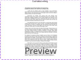 cool tattoo writing coursework writing service