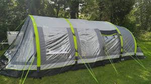 airgo cirrus 4 air tent with porch carpet and footprind in