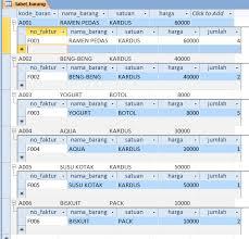 membuat query tabel tutorial membuat database dengan microsoft access 2010 blognya