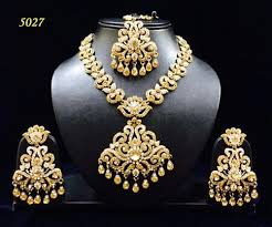 gold stone necklace sets images Stone necklace set at rs 1195 piece necklace sets id 13620129548 jpg
