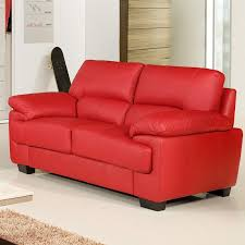 Chelsea Vibrant Red Leather Sofa Collection - Chelsea leather sofa 2